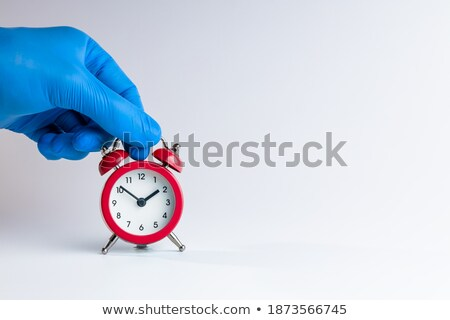 Labourer alarmed by the time Stock photo © photography33