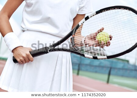 young woman ready for tennis stock photo © photography33