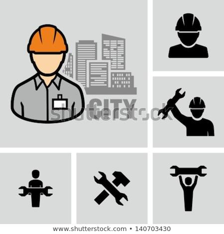 werknemer · sleutel · man · werk · tool · persoon - stockfoto © photography33