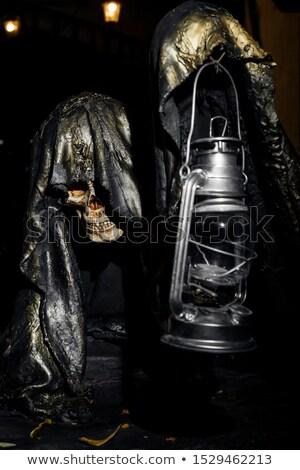 скелет стороны старые лампы тело Сток-фото © pterwort
