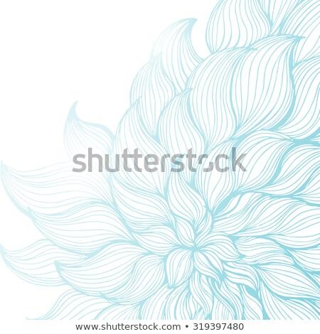 Dalga vektör soyut yaz yeşil Stok fotoğraf © rioillustrator