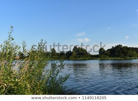 озеро гор пейзаж красоту путешествия Сток-фото © fxegs