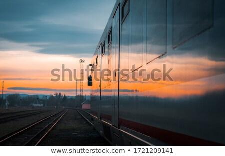 abstract railroad Stock photo © elwynn