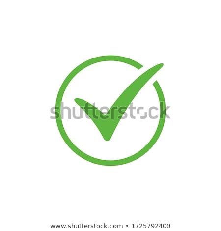 Aprovado verificar projeto vetor sucesso criador Foto stock © bharat