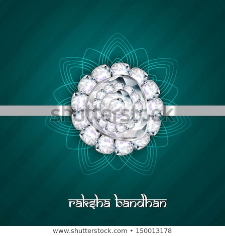 Fantastic raksha bandhan indian hindu festival design Stock photo © bharat