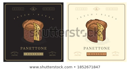 Panettone Stock photo © MKucova