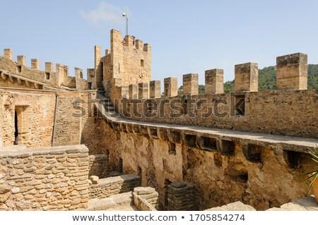 Fortified wall Stock photo © Hofmeester