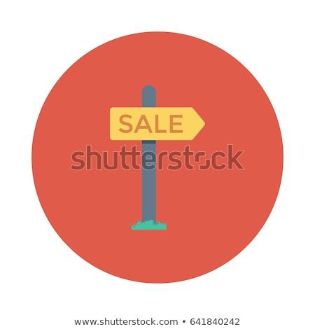 for sale signpost stock photo © burakowski