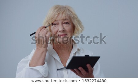 Encantador dama fabuloso sonrisa mujer rubia Foto stock © konradbak