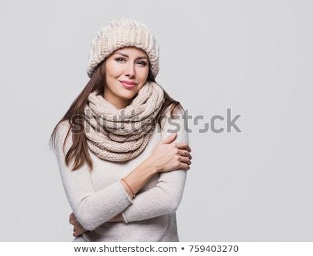 заморожены · азиатских · женщину · одежды · Постоянный - Сток-фото © monkey_business