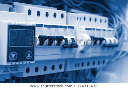 macht · distributie · boord · stroom · industriële · elektrische - stockfoto © andreypopov