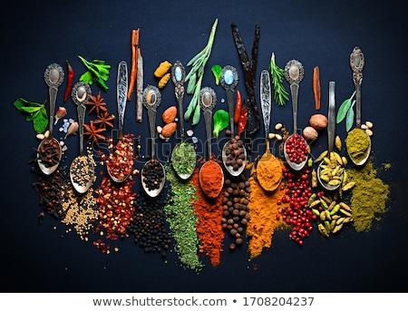 Spices for seasoning. Stock photo © asturianu
