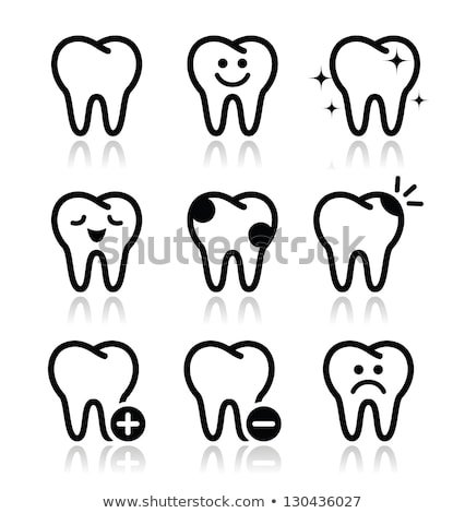 add tooth icon stock photo © tkacchuk