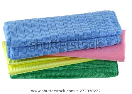 Multicolored Cleaning Cloths Stock photo © ozaiachin