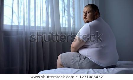 obese man Stock photo © adrenalina