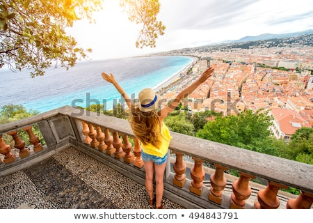 viewpoint in France Stock photo © ivonnewierink