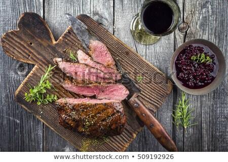 Venison feast Stock photo © Digifoodstock