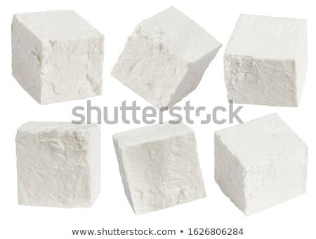 フル 脂肪 フェタチーズ サイド 表示 ストックフォト © ozgur