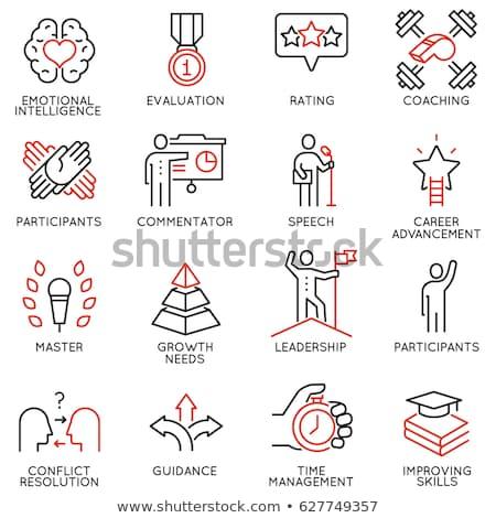 Icons emotions #3 Stock photo © Oakozhan