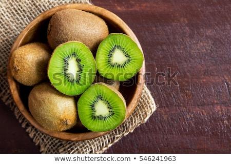 Piatto maturo tutto kiwi frutti frutta Foto d'archivio © Digifoodstock