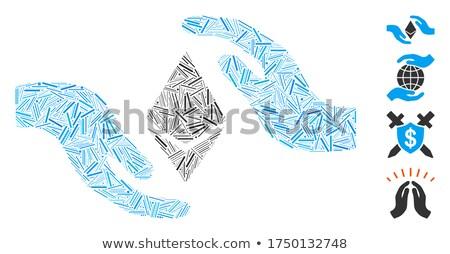 ухода рук икона вектора пиктограммы применение Сток-фото © ahasoft