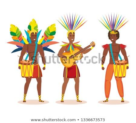 reggae · kultúra · terv · 10 · buli · tánc - stock fotó © rastudio