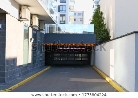 подземных современных вход движения расплывчатый изображение Сток-фото © vilevi