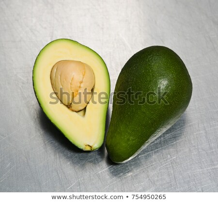 Some avocado on a steel surface Stock photo © IS2