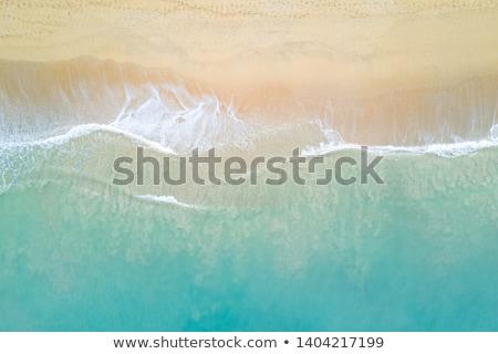Aerial of shoreline. Stock photo © iofoto