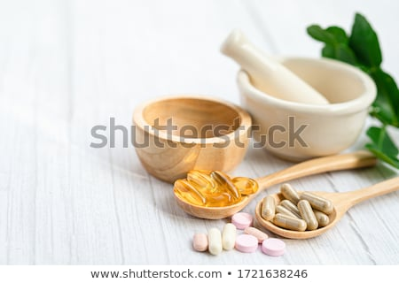Natural Medicine Supplement Stock photo © Lightsource