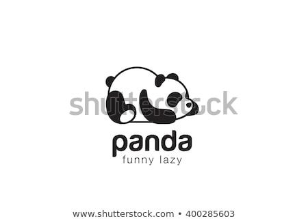 cute · panda · beer · cartoon · mascotte · karakter - stockfoto © marysan