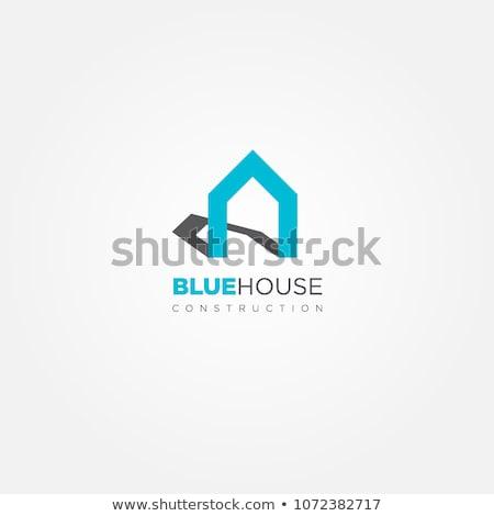 вектора · современных · дома · дизайн · логотипа · недвижимости · икона - Сток-фото © blaskorizov
