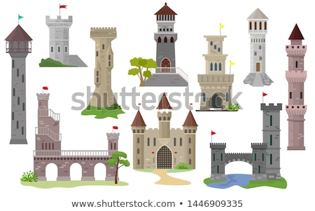 A castle tower background stock photo © colematt