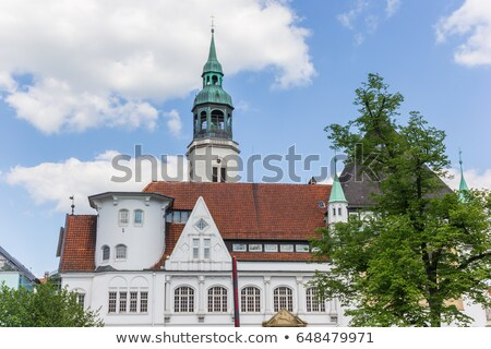 church in celle germany stock photo © borisb17
