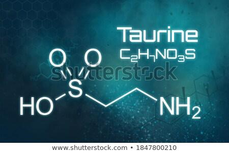 химического формула футуристический аннотация медицинской образование Сток-фото © Zerbor