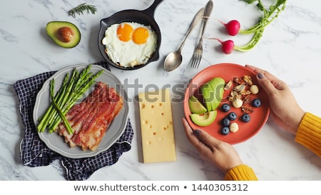 Eating Keto Food Stock photo © Lightsource