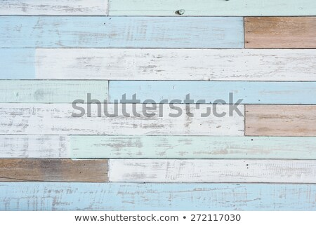 Wood texture, lumber grunge background in classic blue color. Floor surface or fence structure. Vect Stock photo © kyryloff