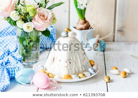 Traditional Easter cottage cheese dessert Stock photo © furmanphoto