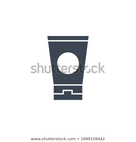 Protector solar vector icono aislado blanco cuerpo Foto stock © smoki