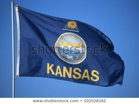 Pavillon Kansas tous couches Photo stock © nazlisart