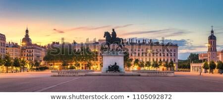 Place Bellecour, Lyon, France Stock photo © borisb17