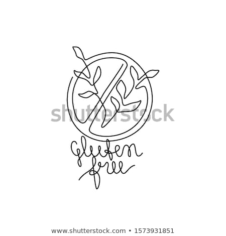 Allergy - line design style single isolated icon Stock photo © Decorwithme