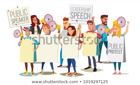 Social movement abstract concept vector illustration. Stock photo © RAStudio