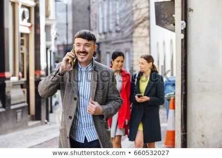Business ondernemer man jonge zakenman naar Stockfoto © Maridav