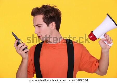 confundirse · constructor · negocios · ojos · trabajo · servicio - foto stock © photography33