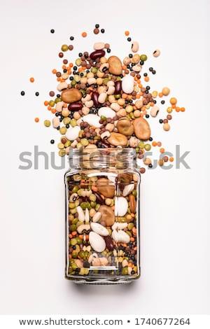 Beans isolated on white background Stock photo © kawing921
