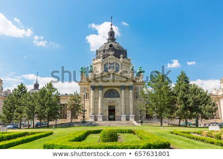banyo · Budapeşte · Macaristan · şehir · sağlık - stok fotoğraf © jakatics