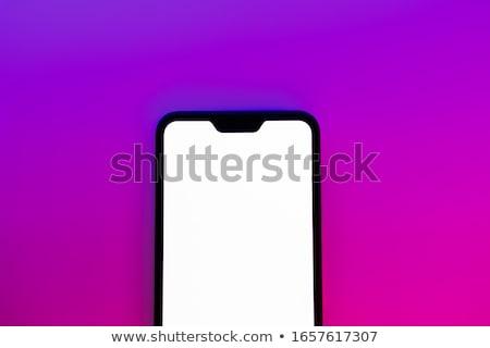 Telefon modern cep telefonu kısa hareketli Stok fotoğraf © Stocksnapper