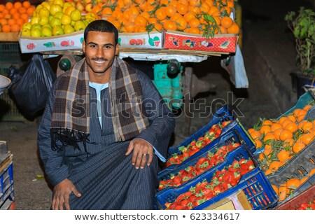 Egyiptomi piac részlet dolgok vásár bolt Stock fotó © sophie_mcaulay