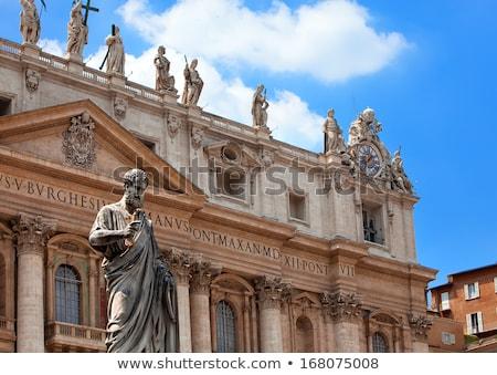 Watykan kaplica wewnątrz bazylika Rzym Włochy Zdjęcia stock © billperry